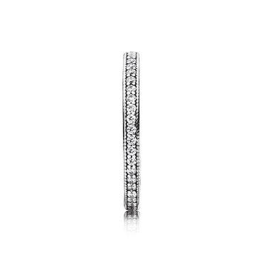 Кольцо pandora (оригинал) размер: 16,5 материал: серебро в Бишкек - фото 3