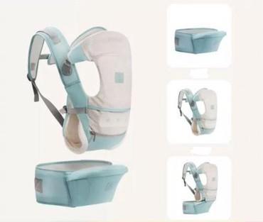 рюкзак кенгуру babybjorn в Кыргызстан: Кенгуру-рюкзак Bebear, продаю фирменный, очень удобный в сером