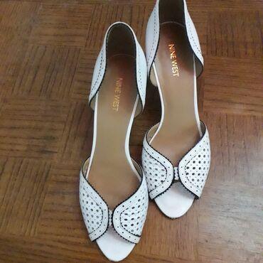 NINE WEST kožne cipele/sandale br 40/41Nove, nisu korišćene, dužina