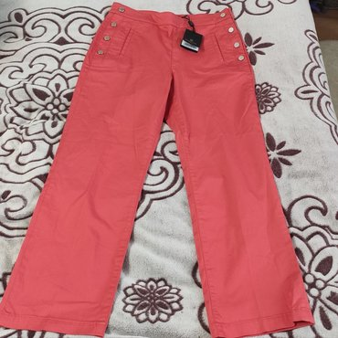 Женские брюки в Кыргызстан: Продаются новые летние укороченные брюки от Massimo Dutti. Высокая
