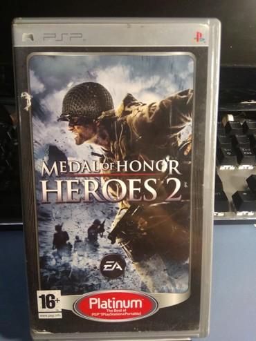 PSP (Sony PlayStation Portable) в Кыргызстан: Игра для PSP, Medal of Honor: Heroes 2 (документация на русском