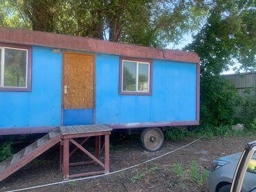 Другой транспорт - Rəng: göy - Бишкек: Продаётся вагон ремонт полностью сделан крыша все везде обновлён! Ковр