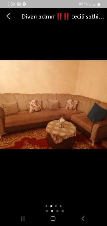 chekhol na divan в Азербайджан: Diva ölcüsü 2 × .3 divan aclmır baza yoxdur unvan xırdalan