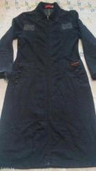 200с джинсовый сюртук,стрейч. ниже колена. р 44/46 в Бишкек