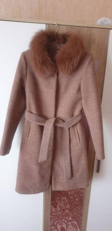 куплю пальто в Кыргызстан: Пальто новое размер 44 Бишкек Токмок