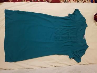 бирюзовое вечернее платье в Кыргызстан: Шивоновое вечернее платье бирюзового цвета 50 размер