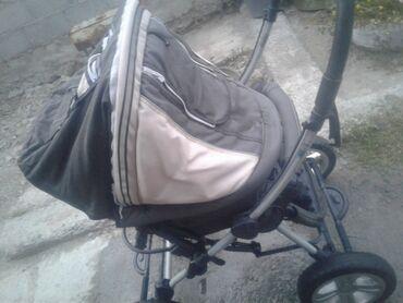 Детский мир - Нижний Норус: Продаю коляска зима-лето в хорошем состоянии, ручка перекидывается