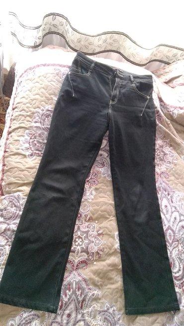 Продаю брюкиюки черные джинсовые за 400 в Бишкек