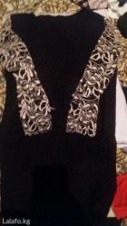 Гипюровое платье размер 42-44 отличное сост короткое в Бишкек