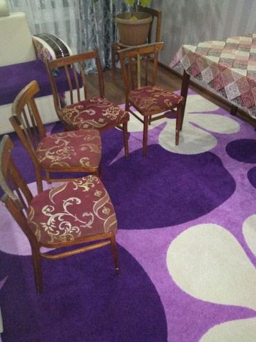 Пр-ся раздвижной стол со стульями. в Каракол