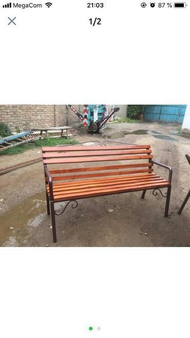 Садовые скамейки в Лебединовка