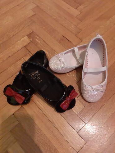 Dečija odeća i obuća - Novi Banovci: Reserved crne baletanke br. 27 ug 16 cm. Cena 700 din. Nošene jednom