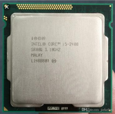 Cpu core i5-2400 3.1 ghz up to 3.4 ghz 4 ядра 4 потока, в Бишкек