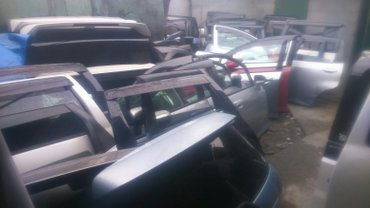 двери фит, одиссей, багажник спада в городе Ош  в Ош