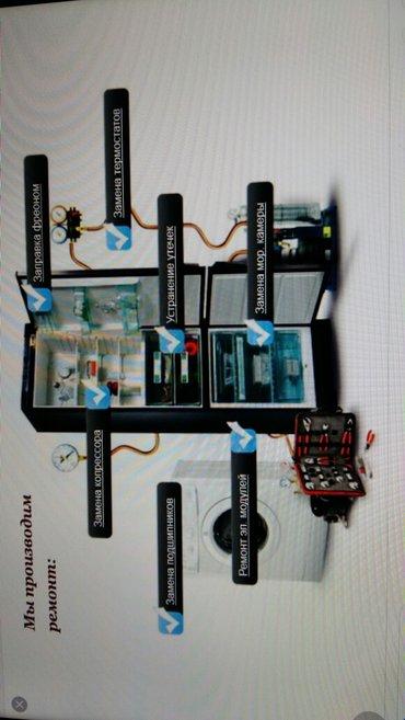 Ремонт холодильника на дому с заменой в Лебединовка