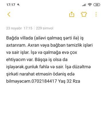 Iş elanları 2020 satici - Azərbaycan: İş axtarıram