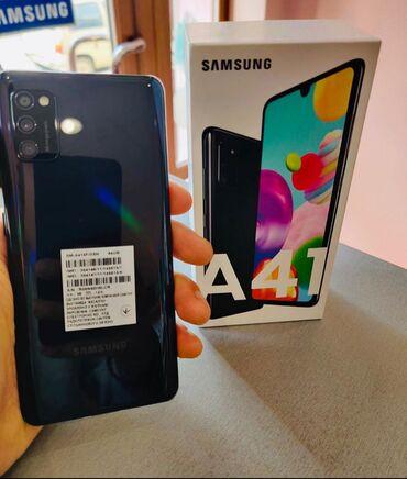 Samsung в Хачмаз: Salam telefon Samsung A41 2020 modeldir tezedir 1 ayin telidir ustunde
