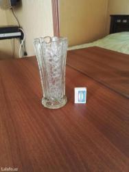Bakı şəhərində Хрустальная старинная ваза, продаётся