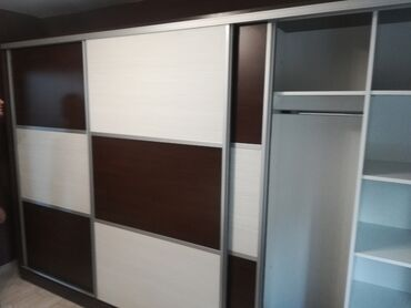 Nameštaj - Ruma: Garderoberi 3.4mduzine visine 2. 2m moze izrada u drugim bojama i