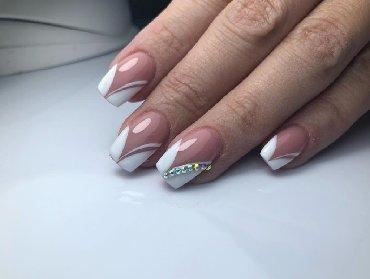 шеллак маникюр наращивание ногтей в Кыргызстан: Маникюр Шеллак Маникюр Шеллак наращивание ногтей Все дизайны На въезд