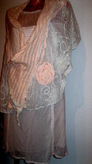 Svaku priliku haljina - Srbija: Indijska haljina i ešarpa, od laganog pamučnog materijala i predivnog