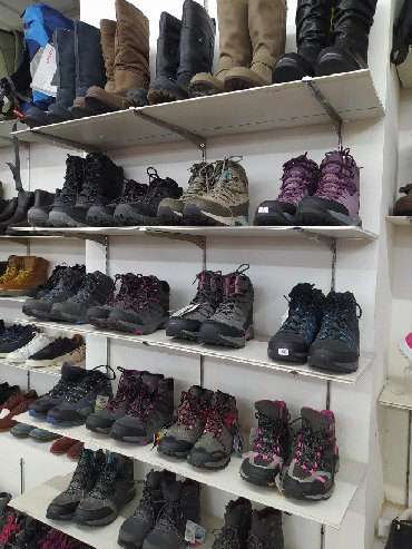 сапоги зимные в Кыргызстан: Женская зимняя и демисезонная обувь. Сапоги, термо кроссовки. Производ