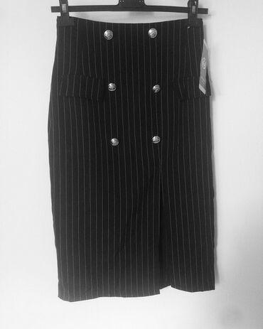 Pencil suknja afroditemodecollection - Srbija: PENCIL SUKNjEVise modela S vel crna sa slicom 700 RSD sa etiketomBela