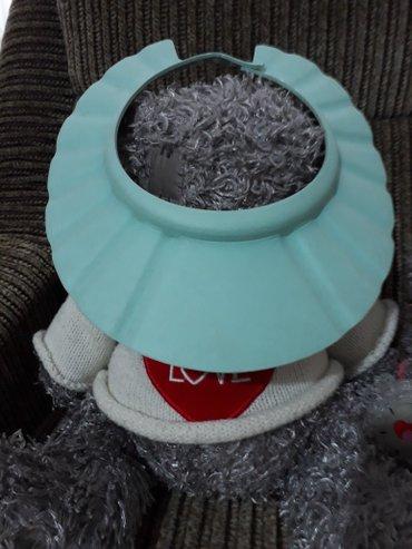 Шапочка детская для купания защита от капель воды в Бишкек