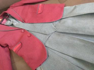 Пиджак школьный - Кыргызстан: Школьная форма PLANETA&MAXIMUS (пиджак, желетка, Юбка, галстук)