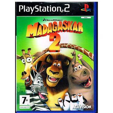 MADAGASKAR 2 PS2 üçün Playstation 2 'ye aid istenilen oyun var