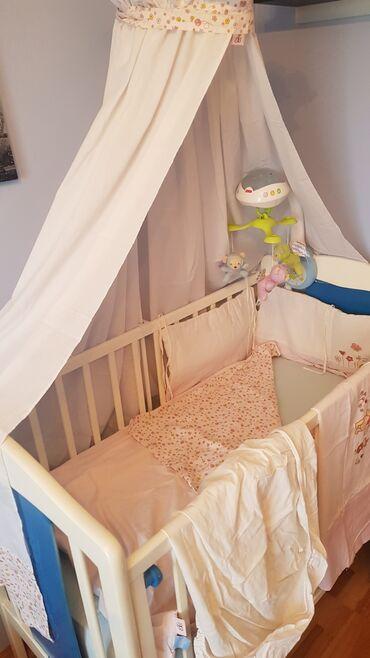 Posteljina za krevetac. DIZNI posteljina. sa dva lica,bez oštećenja