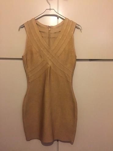 Ελαστικο-ρεγιον, χρυσο-nude, μινι φορεμα. σε Rest of Attica