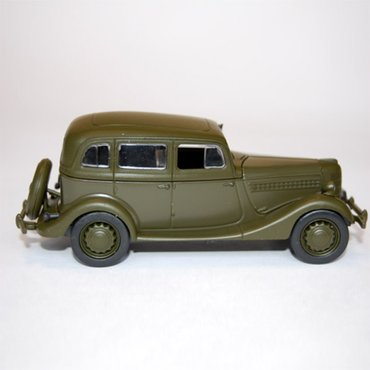 Metalni auto ruski model 1:43 - gaz-11-73 - Belgrade