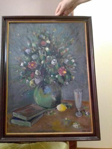 Kućni dekor - Vranje: Umetnicka slika, ulje na platnu