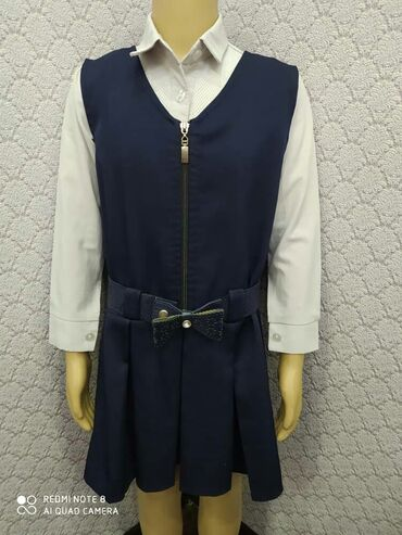 блузки для школы в Кыргызстан: Школьная форма для первоклашек цена 300 сомов входит туда сарафан