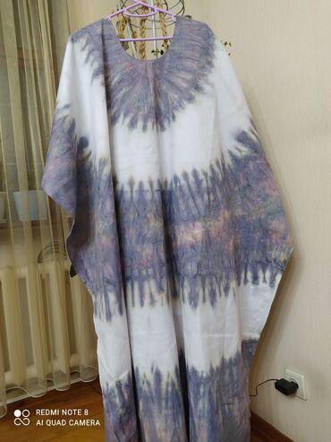 Х/б Платье в африканском стиле отличное решение для лета,новое,размер
