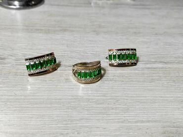 Комплекты серебро с золотом