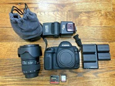 Canon EOS 5D Mark IV Камера DSLR + объектив EF 24-70 в Бишкек