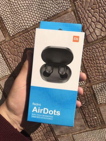 Наушники - Тип подключения: Беспроводные (Bluetooth) - Бишкек: Airdots беспроводные наушники с отличное звучанием поддерживает быстру