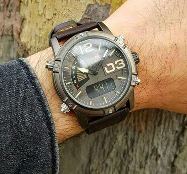 zhenskie yubki tsveta khaki в Азербайджан: Хаки Мужские Наручные часы NaviForce