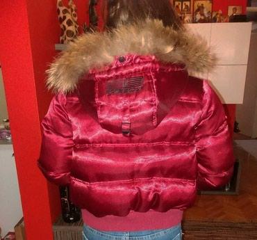Bomb Boogie jakna sa prirodnim krznom - Valjevo