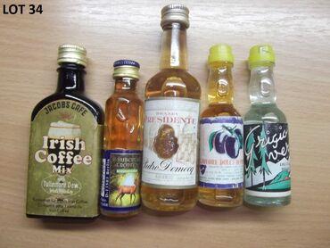 Reklamne flašice mini bottles unučići čokanji fraklići 2.Kao sa slika