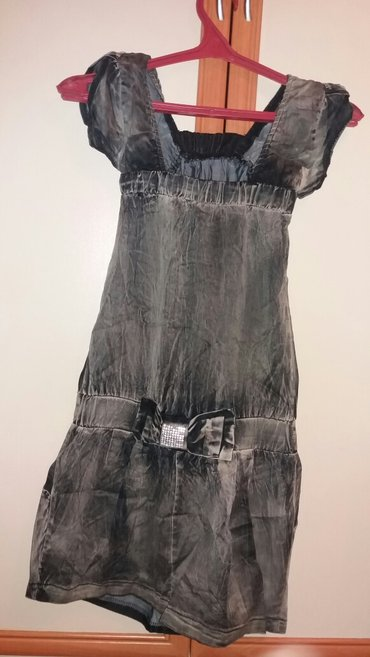 платье короткое с России размер 42 джинсовые материал в Бишкек