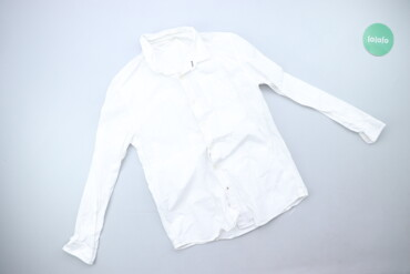 Жіноча класична сорочка білого кольору, р. S   Довжина: 61 см Ширина п