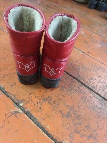 Детская одежда и обувь - Беловодское: Детские зимние сапоги 27 р. в хорошем состоянии