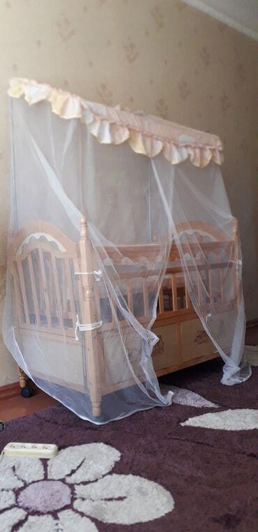 бу детские кроватки в Кыргызстан: Продаётся!!! Детская кроватка договорная
