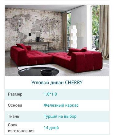 cherry 2010 в Кыргызстан: Угловой диван cherry на заказ