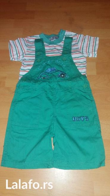 Majica i pantalonice na tregere,vel 3,novo - Krusevac