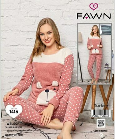 pijama - Azərbaycan: Pelus pijama destleri razmer S M L XL qiymet 23 azn