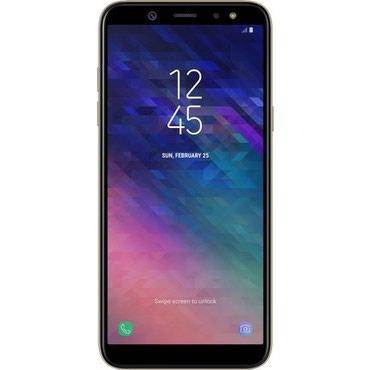 zapchasti a6 в Азербайджан: Новый Samsung Galaxy A6 64 ГБ Черный